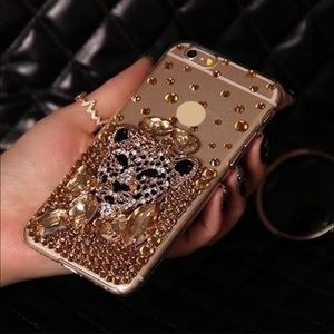 Accessories - Bejeweled Cougar Phone Case Bling!
